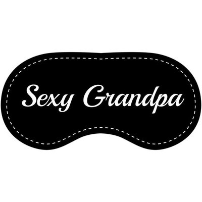 Eye Chatters Satin Blindfold - Sexy Grandpa