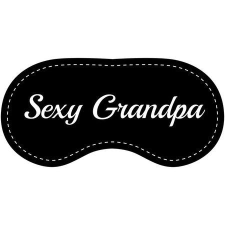 Eye Chatters Eye Chatters Satin Blindfold - Sexy Grandpa