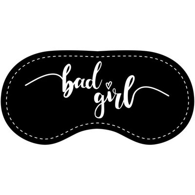 Eye Chatters Satin Blindfold - Bad girl