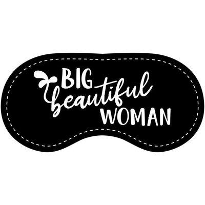 Eye Chatters Satin Blindfold - Big beautiful woman