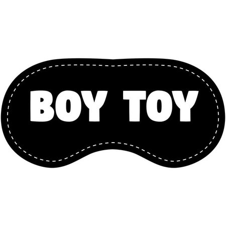 Eye Chatters Eye Chatters Satin Blindfold - Boy Toy