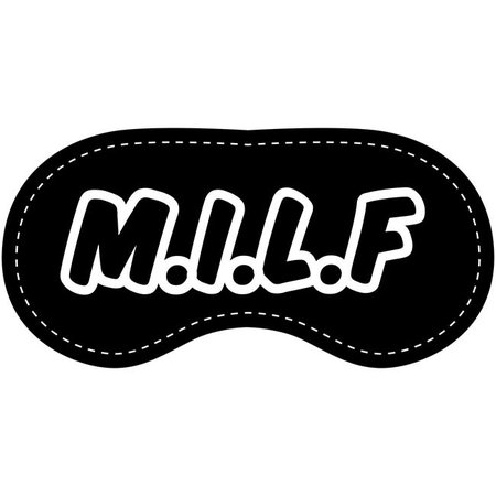 Eye Chatters Eye Chatters Satin Blindfold - M.I.L.F.