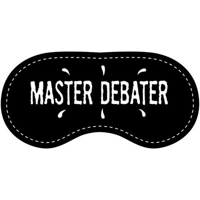 Eye Chatters Satin Blindfold - Master debater