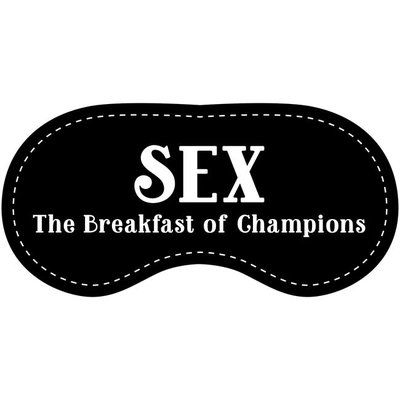Eye Chatters Satin Blindfold - Sex the breakfast of champions
