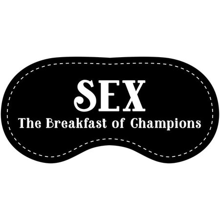 Eye Chatters Eye Chatters Satin Blindfold - Sex the breakfast of champions