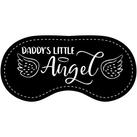 Eye Chatters Eye Chatters Satin Blindfold - Daddy's little angel