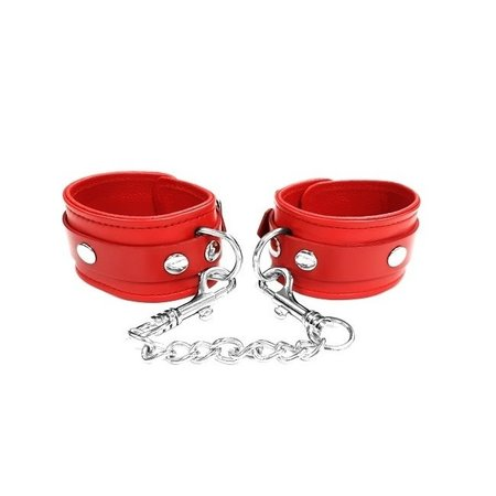 Rouge Rouge Leather Ankle Cuffs