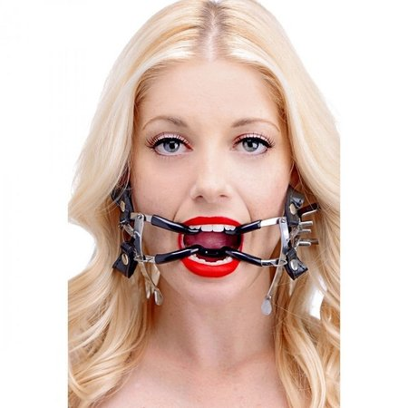Master Series Master Series Ratchet Style Jennings Mouth Gag with Strap