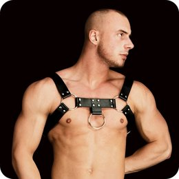 Shots Toys Ouch! Costas Solid Structure 2 Harness