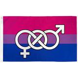Bisexual Symbol Flag 3ft x 5ft