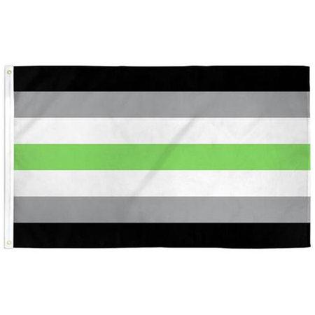 Agender Pride Flag 3ft x 5ft