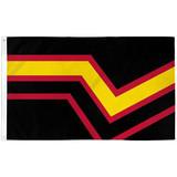 Rubber Pride Flag 3ft x 5ft Flag
