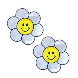 Pastease Smiling Daisy Happy Face Nipple Pasties