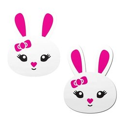 Pastease Cute White Bunny Nipple Pasties