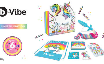 August 2021 Featured Product - b-Vibe 6 Piece Unicorn Plug Set