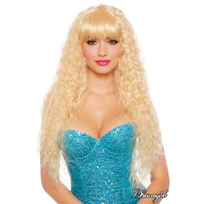 Dreamgirl Extra Long Blonde Beach Wave Wig
