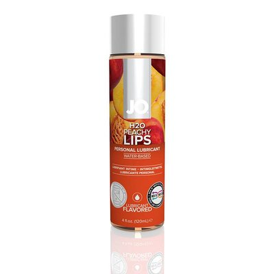System JO JO H2O Peachy Lips Flavored Lubricant 4oz