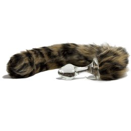 Crystal Delights Crystal Delights Minx Tail Plug - Leopard