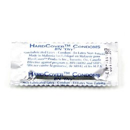 HardCover Non-Lubricated Single Condom