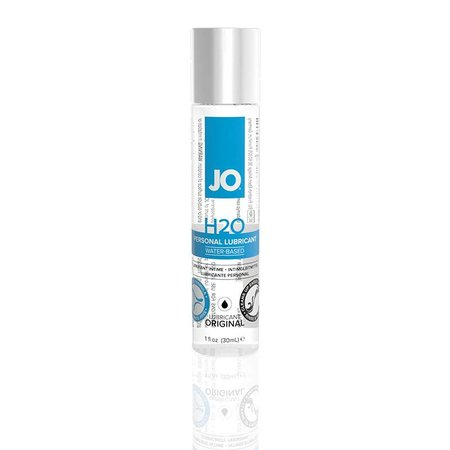 System JO JO H2O Water-Based Personal Lubricant 1oz