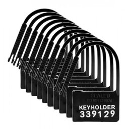 Master Series Master Series Keyholder 10 Pack Numbered Plastic Chastity Locks