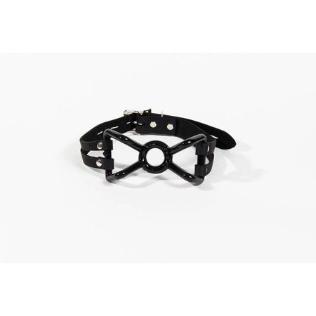 Kookie Intl. Rubber Coated Spider Gag with Leather Strap
