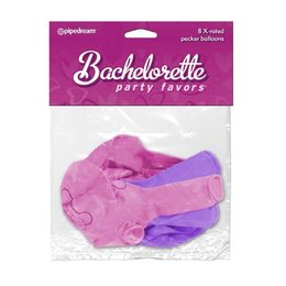 Bachelorette Party Favors Bachelorette Party Favors X-Rated Pecker Balloons