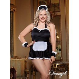 "Dreamgirl ""Maid Me Dirty"" Lingerie Costume OSX"