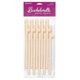Pipedream Bachelorette Party Favors Dicky Sipping Straws