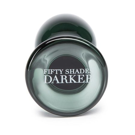 Lovehoney Fifty Shades Darker Something Darker Glass Plug