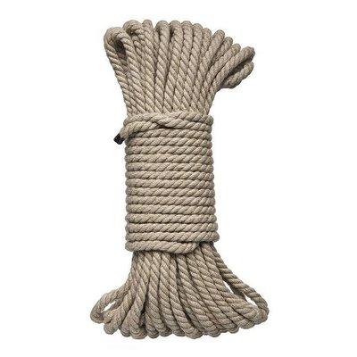 Doc Johnson KINK - Bind & Tie Hemp Bondage Rope - 50'