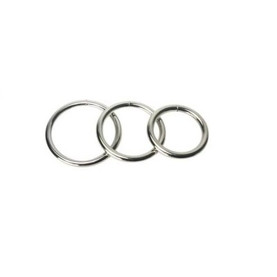 Master Series Master Series Trine Steel Ring Collection
