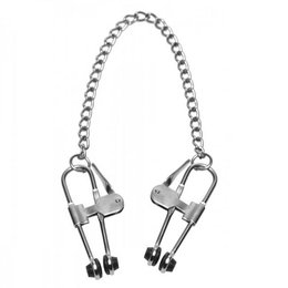 Master Series Intensity Nipple Press Clamps with Chain