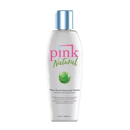 Pink Pink Natural Water-Based Lubricant 4.7oz