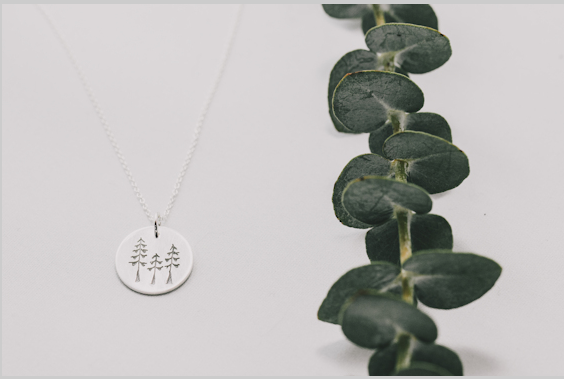Disc Necklace – Sitka Trio