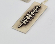 Sitka Tree Pendant Necklace