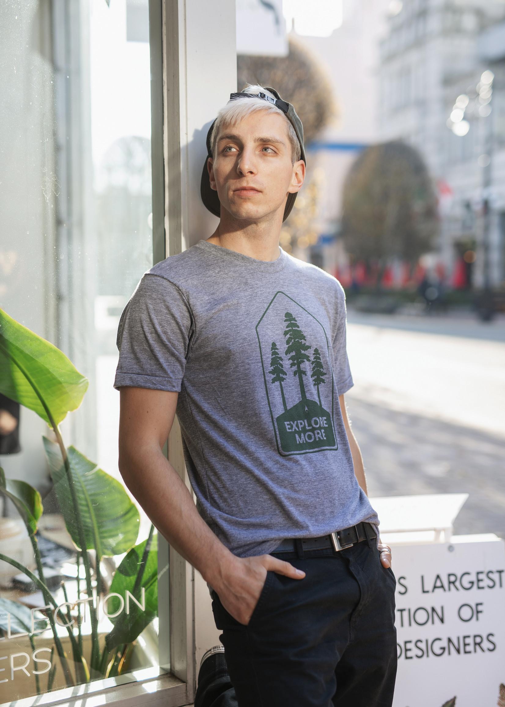 Locomotive - Explore More T-Shirt