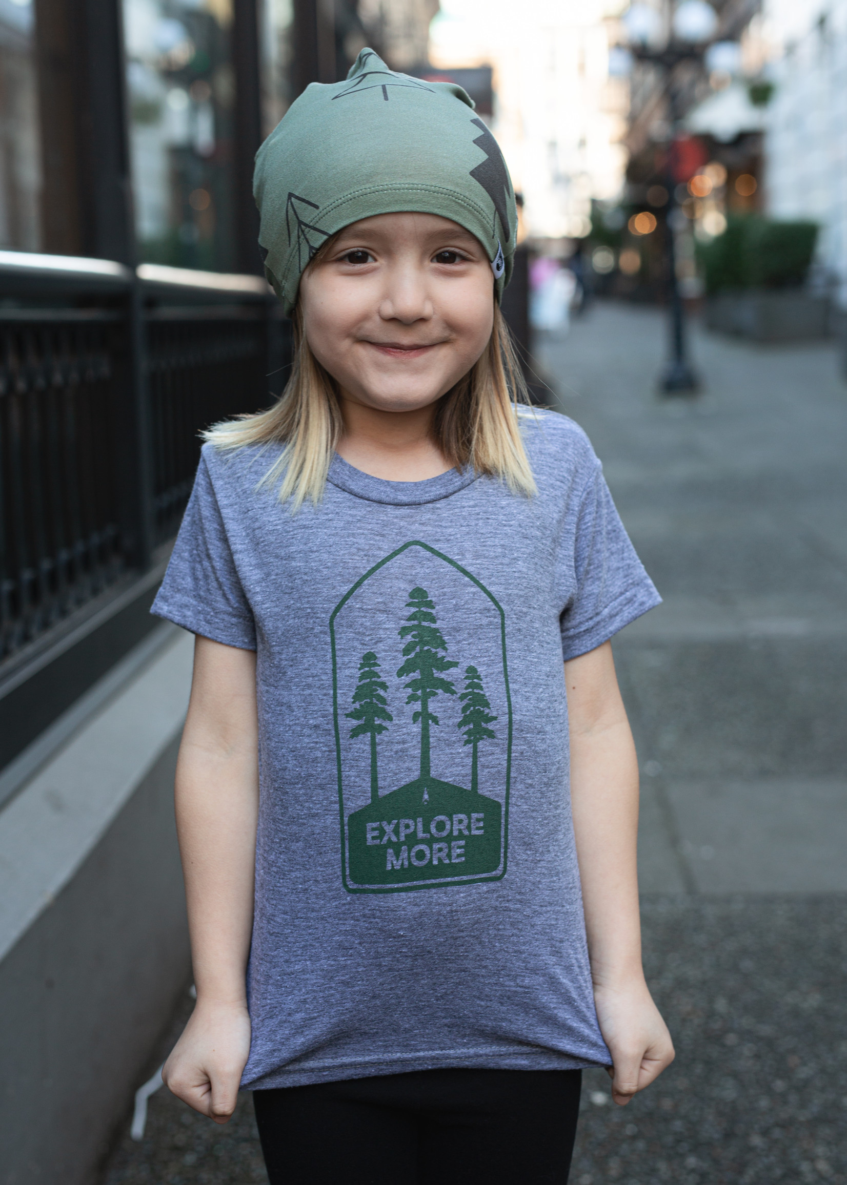 Locomotive - Explore More Kids T-Shirt