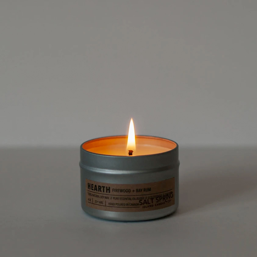 Hearth 4oz Candle