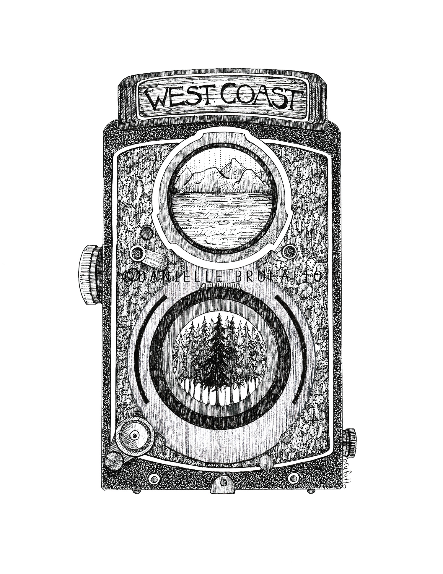 West Coast Cam Print