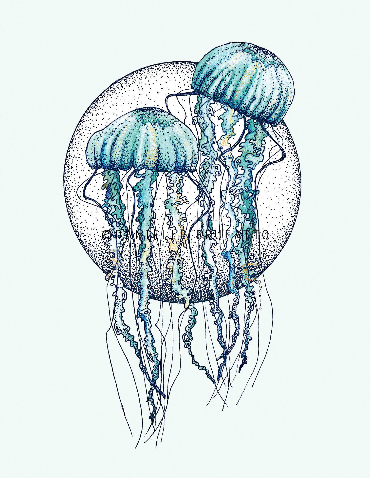 A Little Jelly Love Print