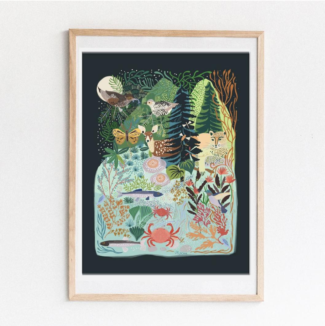 Anja Jane Spipiyus Print