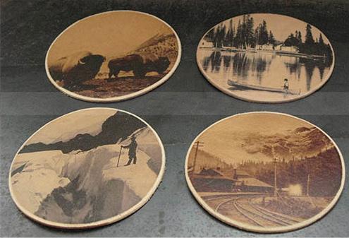 Canadiana Coaster Set (4)