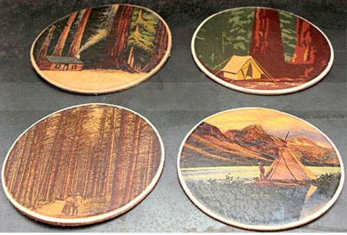 Tree Hugger Coaster Set (4)