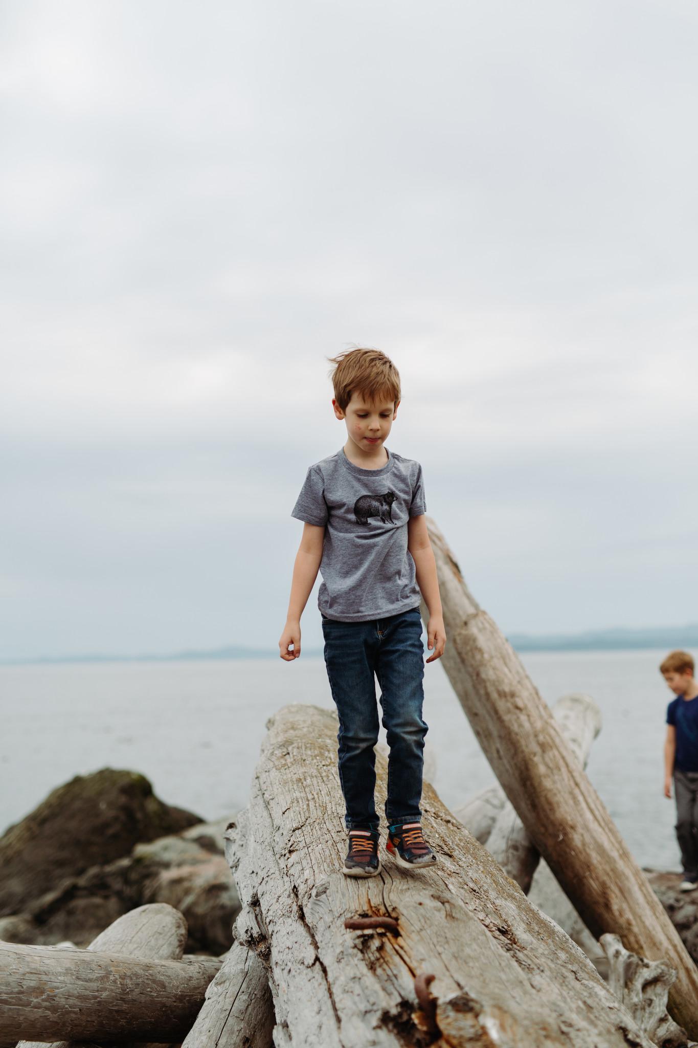DOTTIE HANDMADE Kids Bear T-Shirt