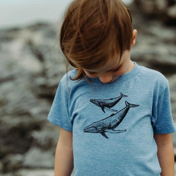 DOTTIE HANDMADE Kids Whale T-Shirt