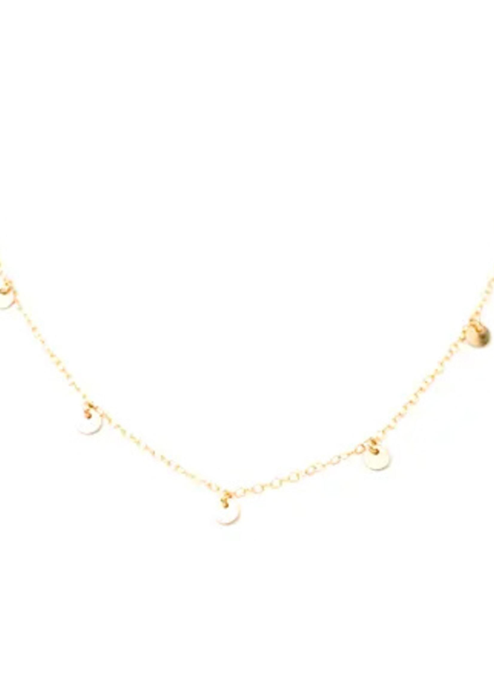 May Martin May Martin - Five Coin Necklace
