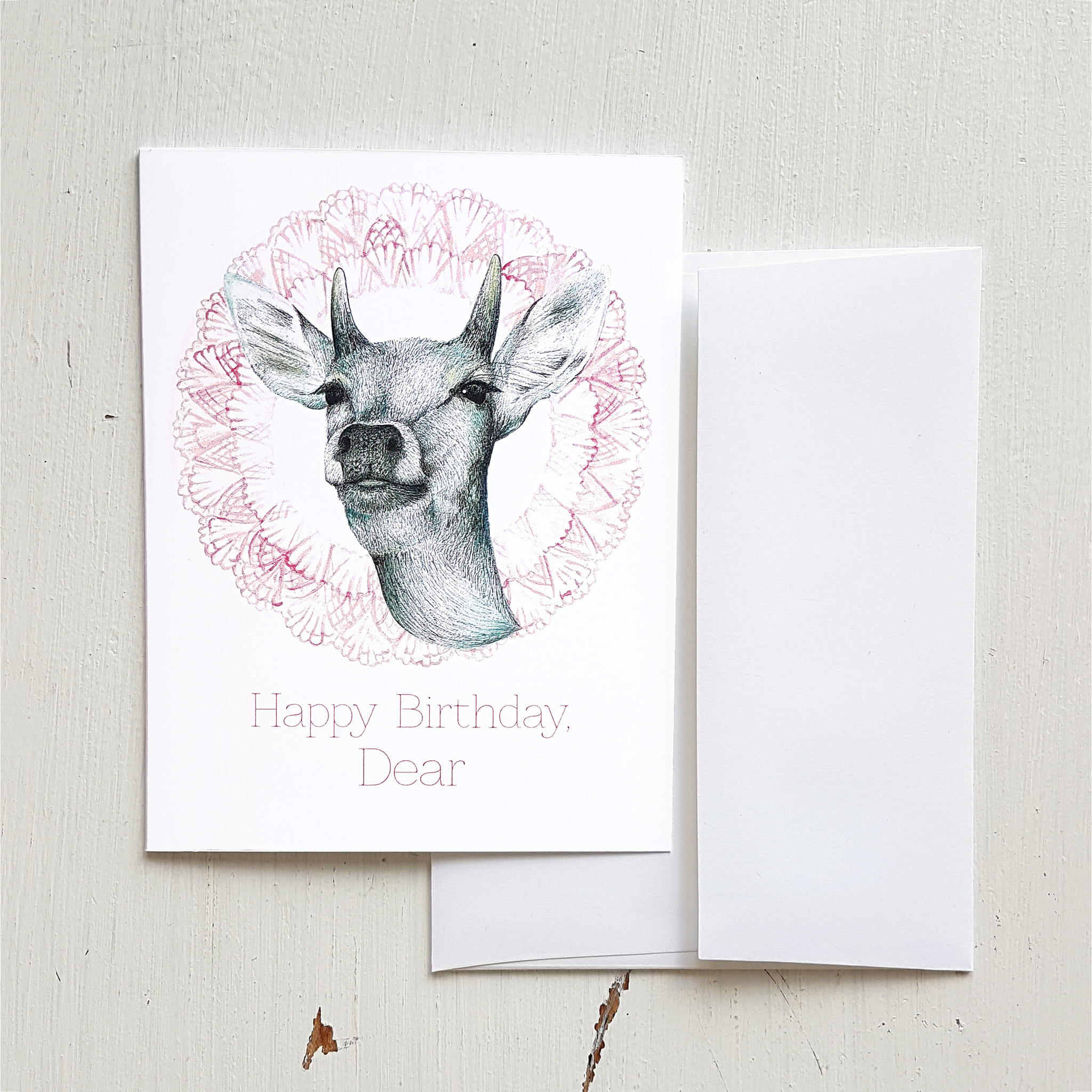 Happy Birthday Dear Small Card