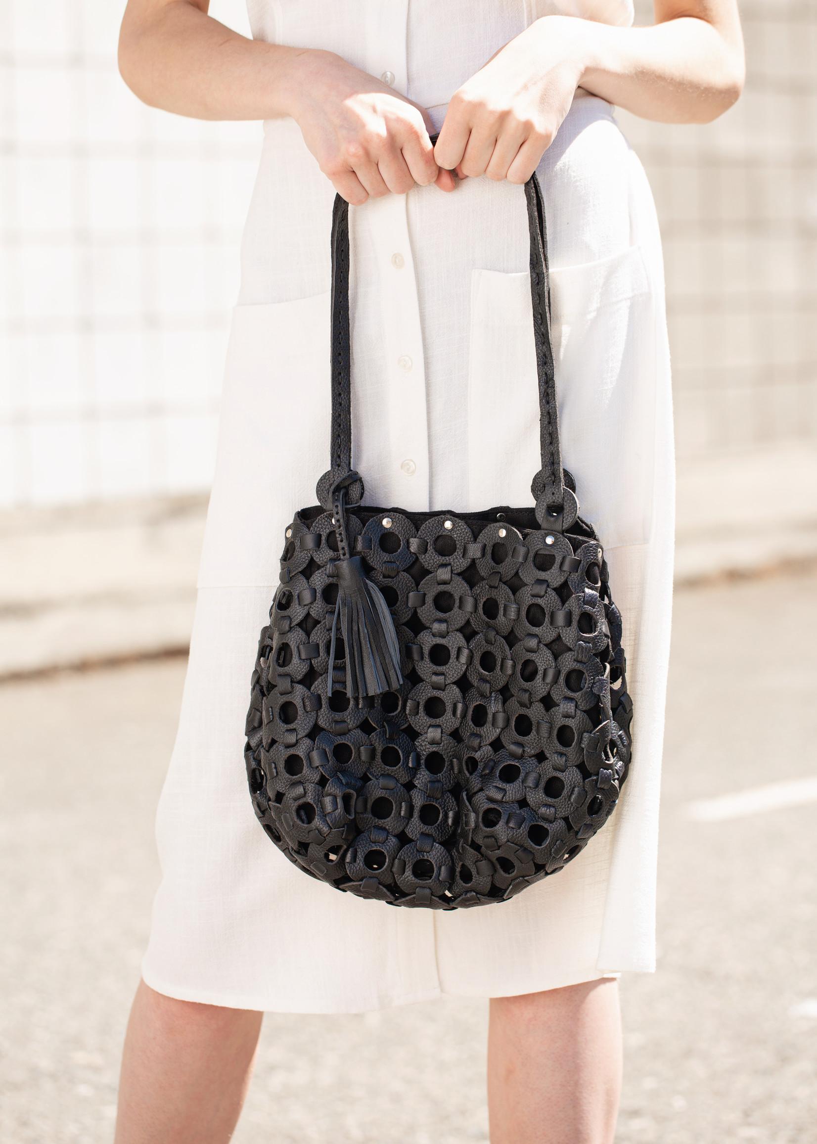 Migration - Leather Circle  Bag