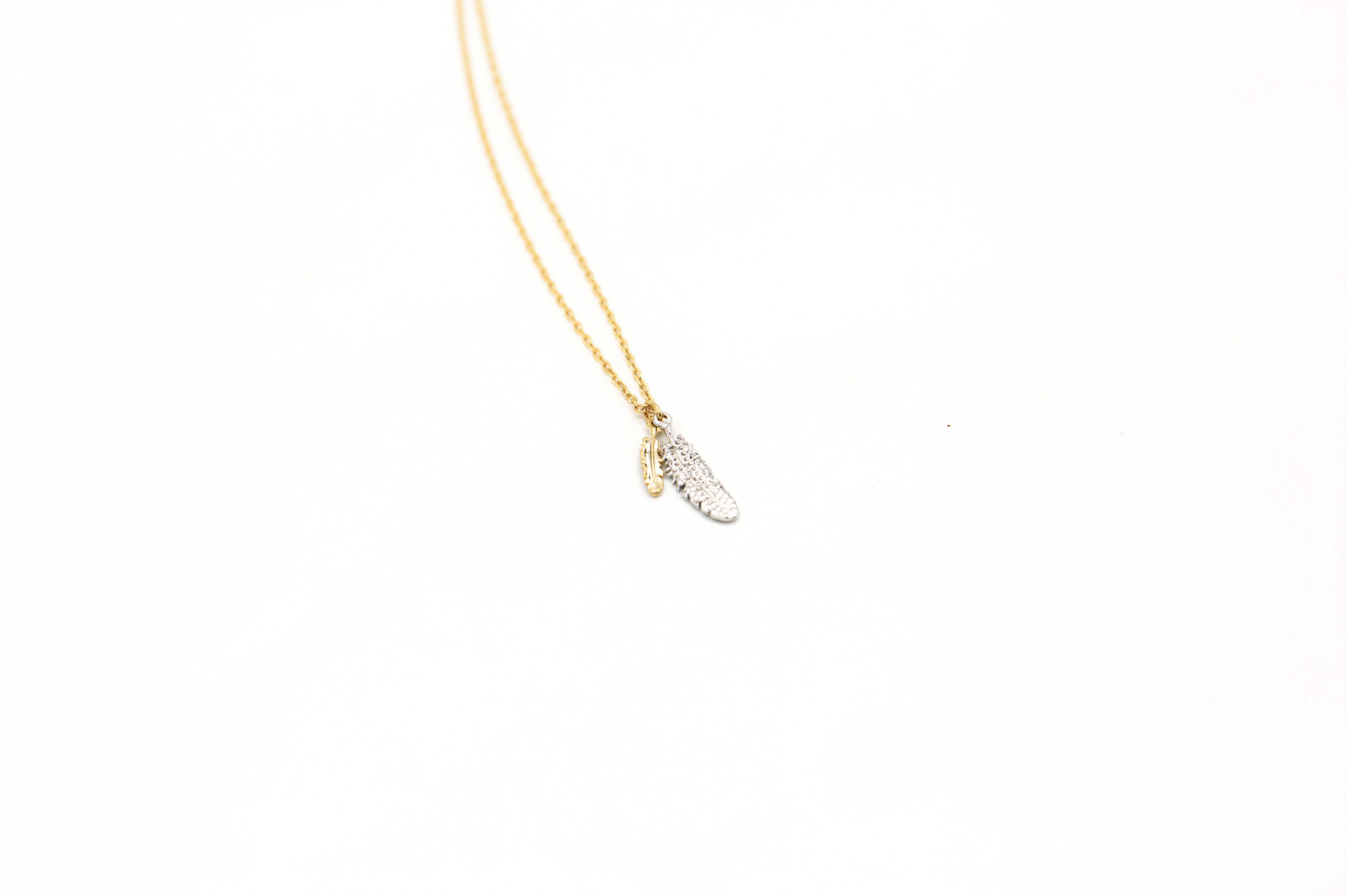 Two Feathers Pendant